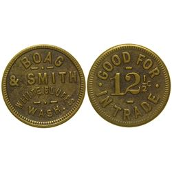 Boag & Smith Token White Bluffs Washington