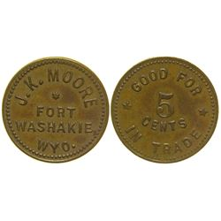 J.K. Moore Token Fort Washakie Wyoming
