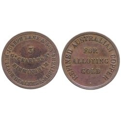Australian Gold Rush Trade Token