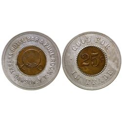 Tanana Hotel Bar & Pool Room Token Yukon Territory