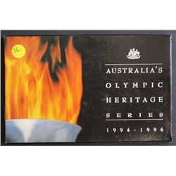 Olympic Heritage set of 6 in Box,