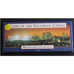 Coins of The Victorian Capital proof pair