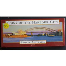 Coins Of Sydney Harbor Proof Pair