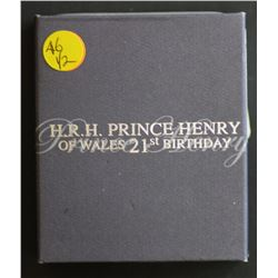 Prince Henry & Prince Harry 21st Birthday Proofs