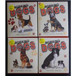 Working Dogs Proofs, Beagle, Collie, Cattle Dog, Shepard