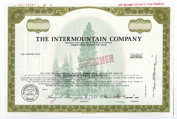 intermountain paper co Free essay: kuan-chung (bill) wu hpm540: professor kamke hpm540: case study 3: performance management at intermountain healthcare 1 what is your assessment.