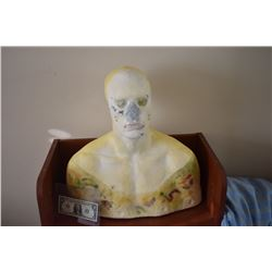 ZZ-CLEARANCE DISPLAY BUST FOR MASKS HATS WIGS SCULPTING ETC 4