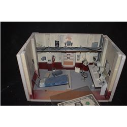 SAW PRODUCTION MADE DIORAMA OF VICTIM CHAMBER