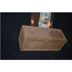 MINIATURE CRATE MADE OF REAL WOOD