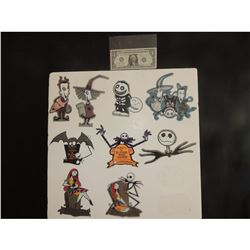 ZZ-CLEARANCE NIGHTMARE BEFORE CHRISTMAS WHOLESALE LOT OF VINTAGE STICKERS $1.00 EACH