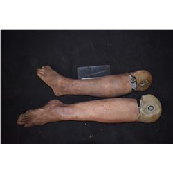 SEVERED SILICONE LEG FOR YOUR HAUNT OR INDY FILM 15