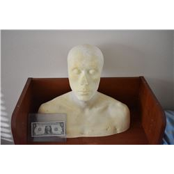 ZZ-CLEARANCE DISPLAY BUST FOR MASKS HATS WIGS SCULPTING ETC 2
