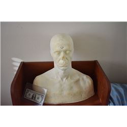 ZZ-CLEARANCE DISPLAY BUST FOR MASKS HATS WIGS SCULPTING ETC 3