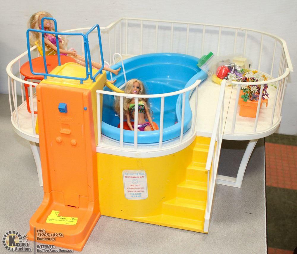 1980 39 S Barbie Dream Swimming Pool