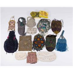 Group Lot of Vintage Beaded Bags