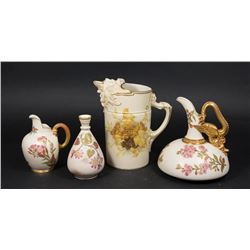 Group Lot of 4 Royal Worcester Items