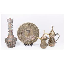 Lot of 4 Middle Eastern Items