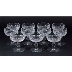 11 Waterford Colleen Short Stem Champagne Goblets