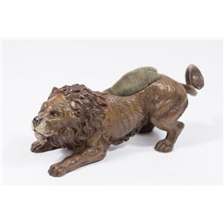 Vienna Bronze Style Lion Pin Cushion