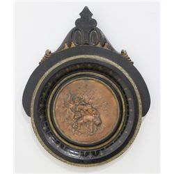 Victorian Copper Insert Plaque