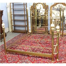 :Contemporary Brass Bed