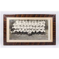 1941 Brooklyn Dodgers Framed Team Photo