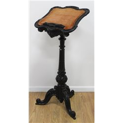 Victorian Carved Scroll Leg Music Stand
