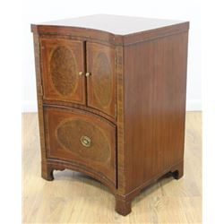 Maitland & Smith Mahogany Inlaid Commode