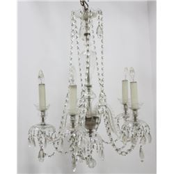 Crystal 4-Light Chandelier