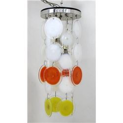 :Vistosi Murano Disc Chandelier