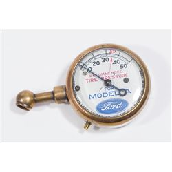 Antique Ford Model A Tire Pressure Guage
