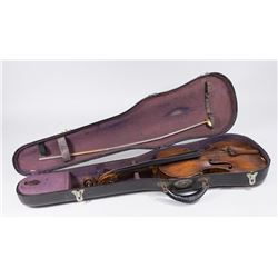 Carlo Ferdinand Landolfi signed Violin and case