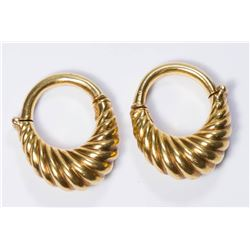 Lalounis 18K Gold Earrings