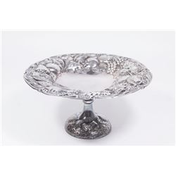Continental Silver Compote with Fruit