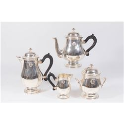 4-Piece Silverplated Tea Set