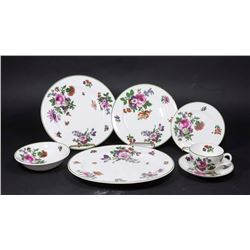 Royal Doulton Floral Design Luncheon Set