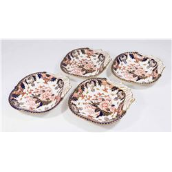 4 Royal Crown Derby Clamshell Serving Dishes