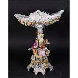 Dresden Figural Compote