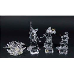 4 SCS Swarovski Collector Society Figures