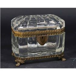 Fine Quality Molded Glass Casket