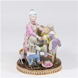 Meissen Grouping Woman with Children