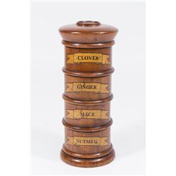 Wooden Spice Tower