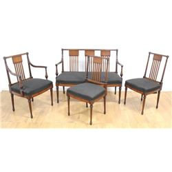 4-Piece Sheraton Style Salon Set
