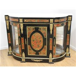 Marble Top Boulle Style Sideboard