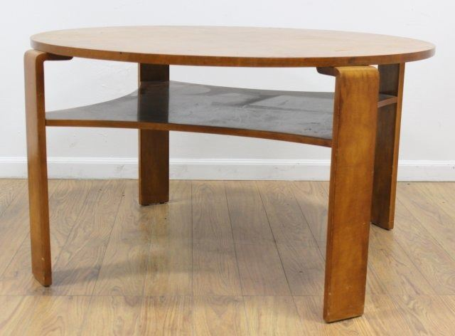 Post Modern S Maple Tier Coffee Table - Post modern coffee table