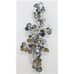 Curtis Jere Raindrops Wall Sculpture