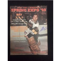 SPRING EXPO 1998 PROGRAM SIGNED BY GLENN HALL