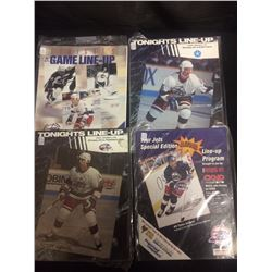 COLLECTORS WINNIPEG JETS HOCKEY PROGRAM LOT