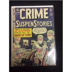 EARLY 1950'S CRIME SUSPENSE STORIES EC COMICS COMIC BOOK #10