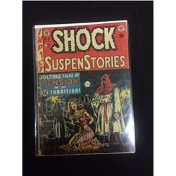 EARLY 1950'S SHOCK SUSPENSE STORIES EC COMICS COMIC BOOK #6